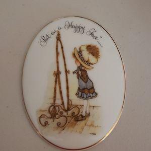 Holly Hobbie Small plaque